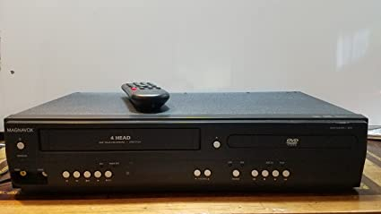 magnavox mdv260v dvd player & vcr with line-in recording