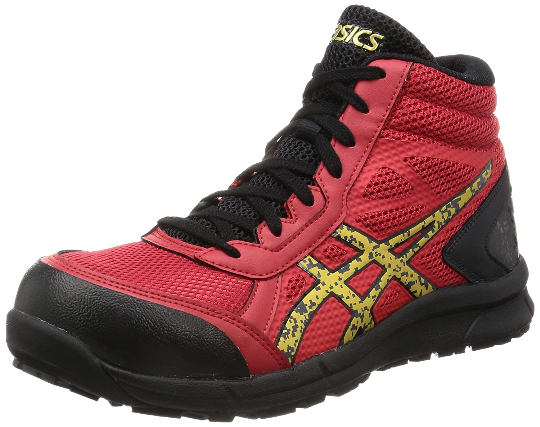 [アシックスワーキング] 安全靴 作業靴 ウィンジョブ®CP104 B06W9HLYKJ 26.5 cm|トゥルーレッド/ゴールド トゥルーレッド/ゴールド 26.5 cm