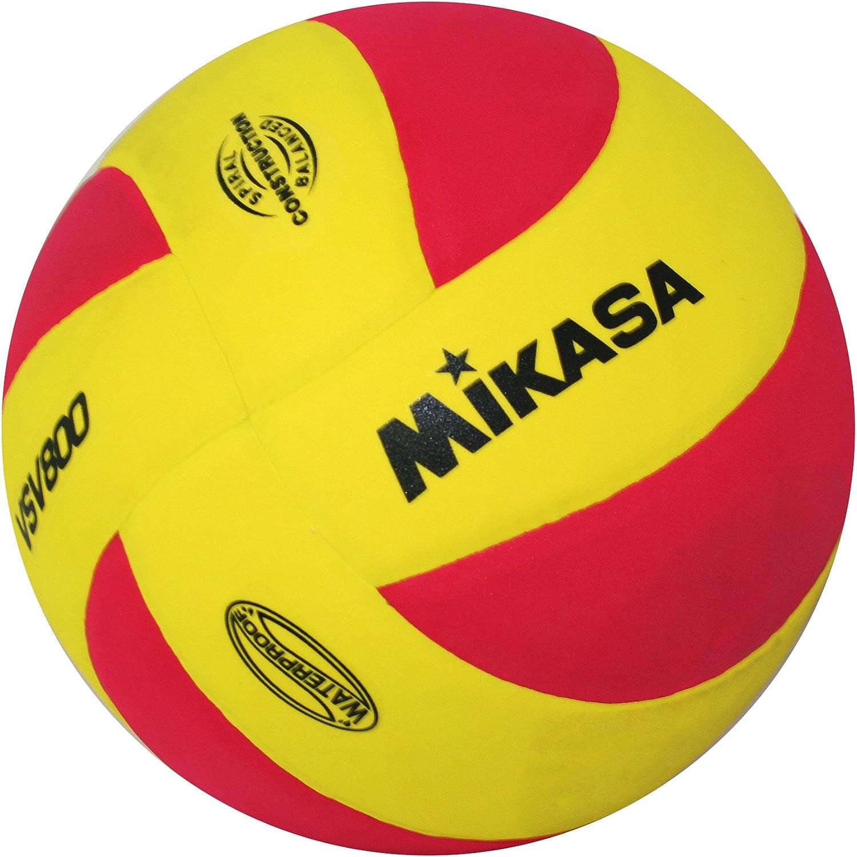 Mikasa VSV 800 1169 Volleyball 赤 / 黄