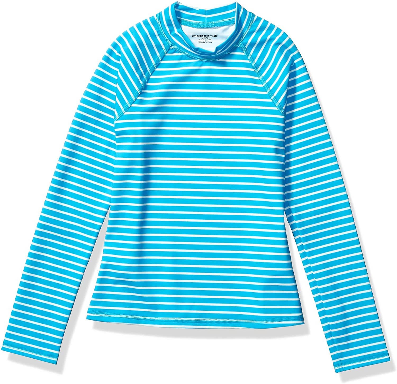 Essentials M/ädchen-Kurzarmshirt Rashguard