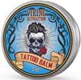 Viking Revolution Tattoo Care Balm for Before, During & Post Tattoo – Safe, Natural Tattoo Aftercare Cream – Moisturizing Lotion to Promote Skin Healing (1 Pack)