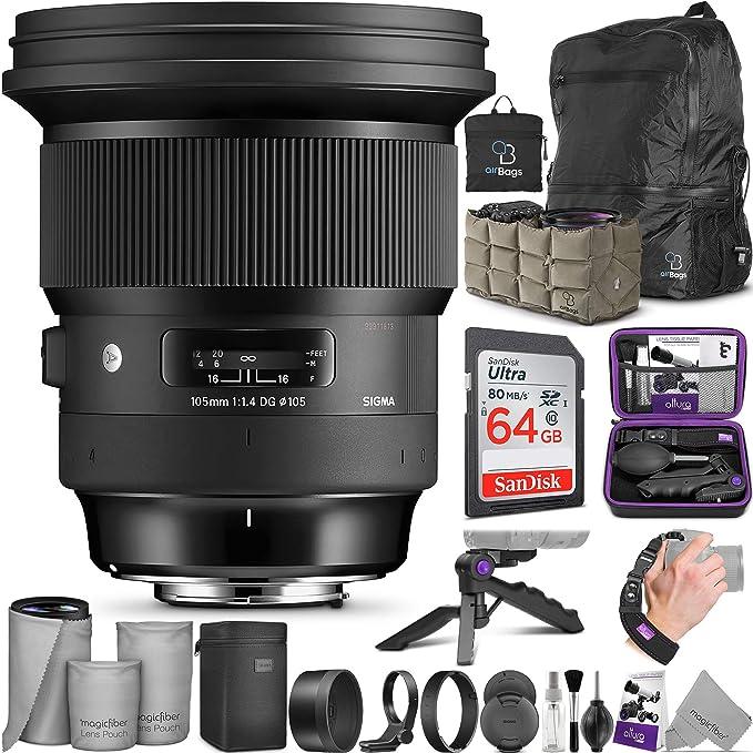 Sigma 105 Mm F 1 4 Dg Hsm Art Objektiv Für Sony E Mount Kamera