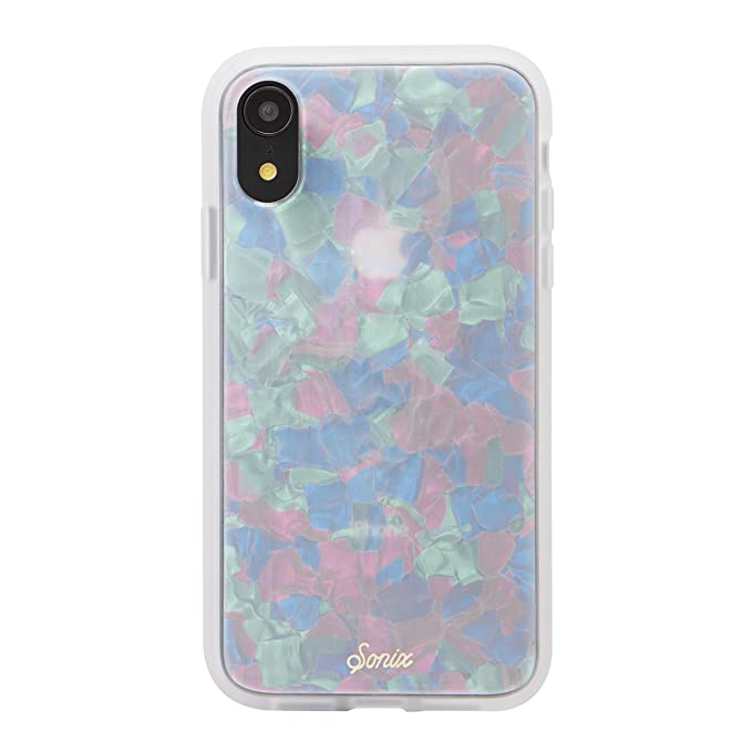 buy online 2d440 acf15 iPhone XR Case, Sonix Pearl Tort (Tortoiseshell) Cell Phone Case [Military  Drop Test Certified] Protective Tortoishe Shell Series for Apple iPhone XR