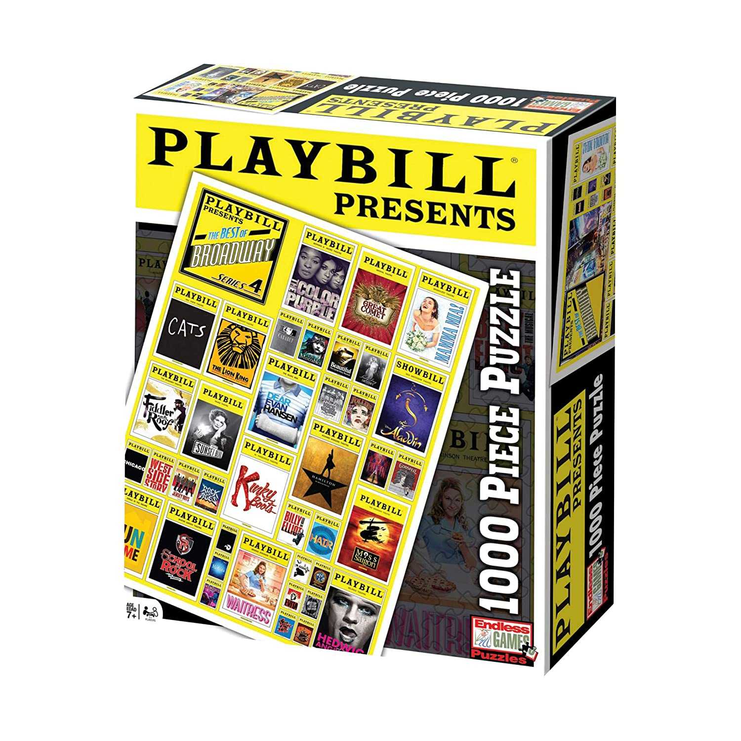 Playbill Broadway Cover Puzzle 1000 Piece Endless Games 5005