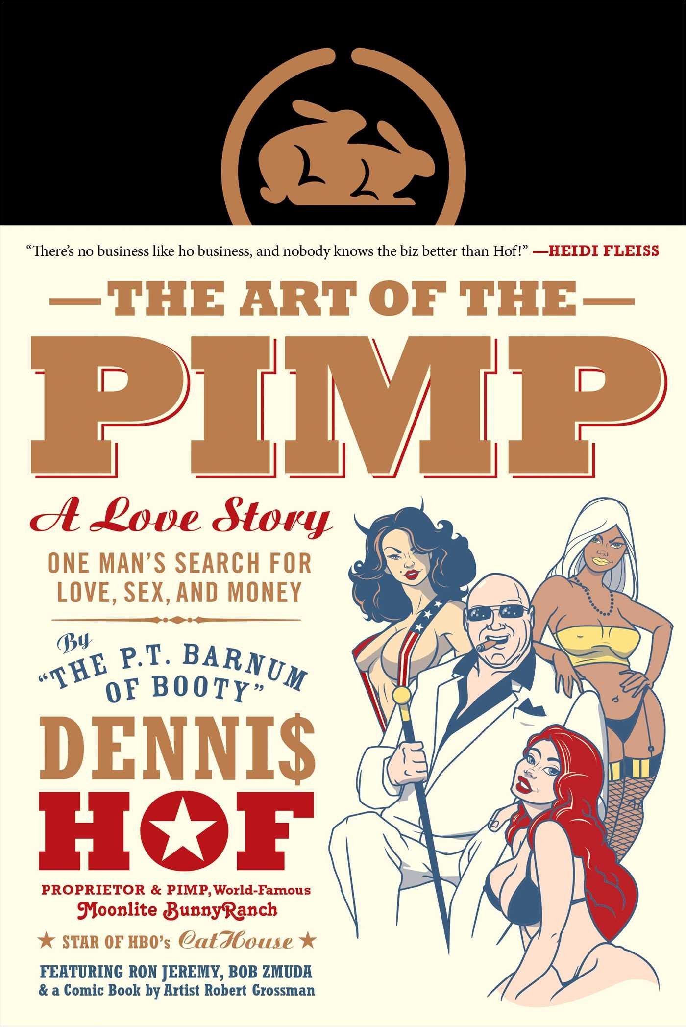 The Art Of The Pimp: One Man's Search For Love, Sex, And Money: Dennis Hof,  Robert Grossman, Pablo F Fenjves: 9781941393277: Amazon: Books