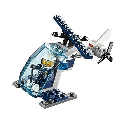 Lego 30222 - Police Hélicoptère Jeu De Construction - Dans Un Sac