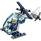 LEGO 30222 Construction Police Helicopter in Bag