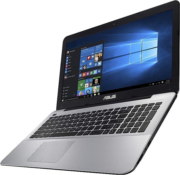 "ASUS X555QA Laptop, 15.6"" HD, AMD Quad Core A12-9700P (Up to 3.4GHz) Processor, 8GB DDR4 RAM, 1TB Hybrid HDD, Windows 10 64-bit - X555QA-DH12"