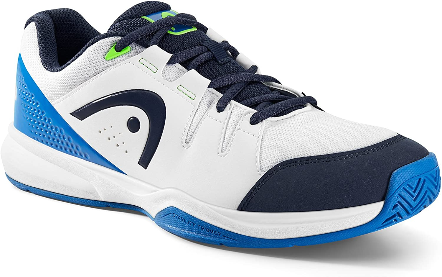 Head Grid 3.0 Mens Indoor Court Shoes White//Blue