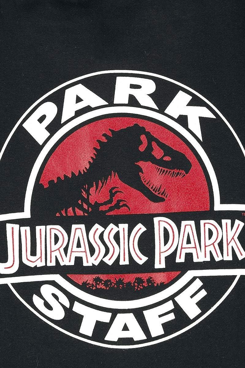 Jurassic Park Park Staff Veste Varsity Noir//Rouge L