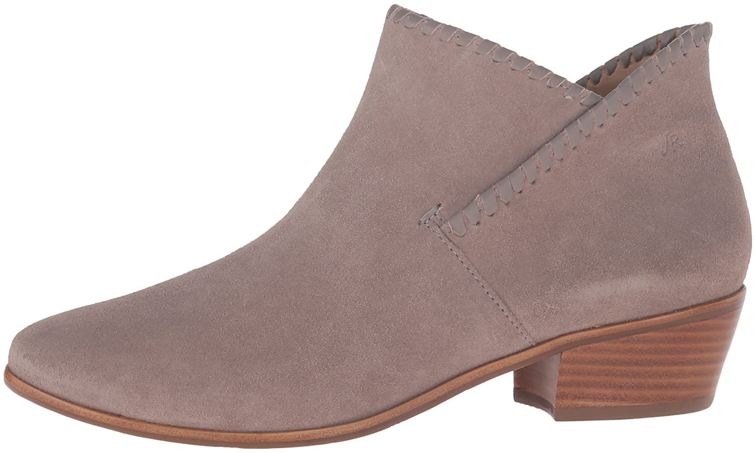 Jack Rogers Women's Sadie Suede Boot B01DCSS76K 7 B(M) US|Light Grey