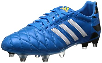 new arrival 61f45 0cc7e adipure 11 Pro XTRX SG Football Boots Solar BlueWhiteBlack, Black,