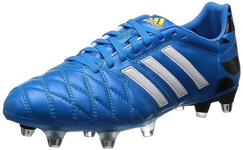 buy online 38de1 a6ed6 adidas Bota adipure 11Pro XTRX SG Solar blue-Blanca  Amazon.es  Zapatos y  complementos