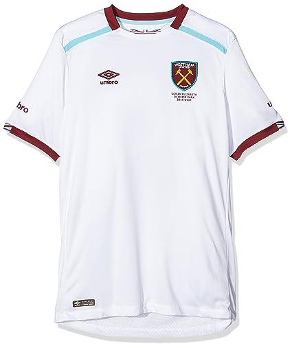 reputable site 0f3cc 5fe4e Amazon.com : Umbro 2016-2017 West Ham Away Football Shirt ...