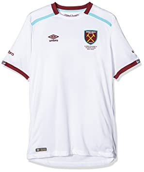 a3440879300b4 Umbro - Réplica de la Camiseta de Manga Corta de West Ham United jóvenes   Amazon.es  Deportes y aire libre