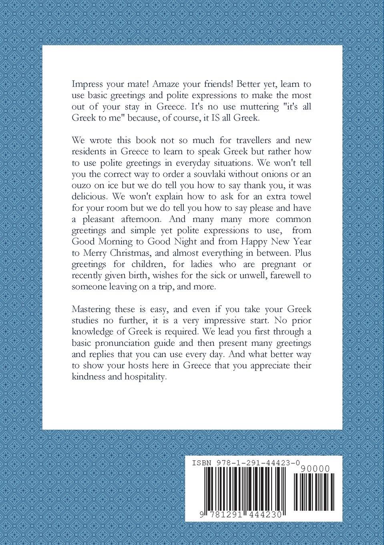 The Good Guide To Greek Isabella Crasto 9781291444230 Amazon