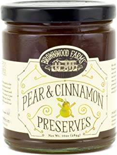 product image for Pear & Cinnamon Preserves by Brownwood Farms (10 ounce)