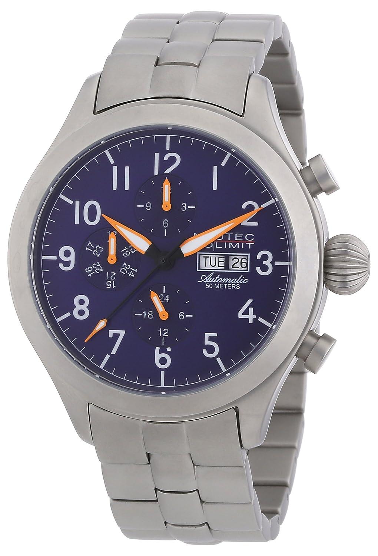 Nautec No Limit - Reloj analógico para Caballero de Acero Inoxidable Azul
