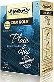 GeeBees Chai Gold Instant Premix Plain Tea Sweetened, 140g