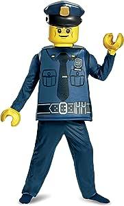 Generique - Disfraz policía Lego® niño 4-6 años (109-124 cm ...