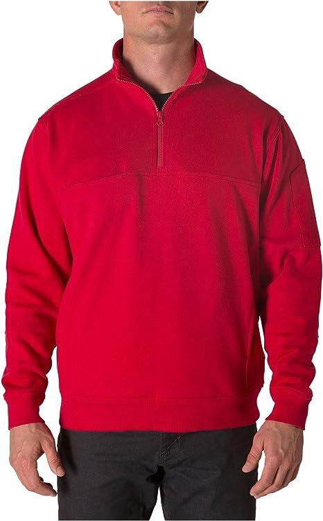 5.11 Tactical - Camisa para Hombre, Talla Mediana, Color Rojo: Amazon.es: Deportes y aire libre