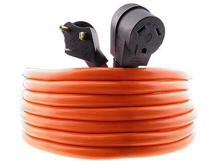 amazon com mpi tools tt 30 rv power cord 40 feet 3 wire 10 gauge RV Wiring Schematics image unavailable