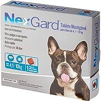 NexGard Antipulgas e Carrapatos para Cães de 4,1 a 10kg, 1 tablete