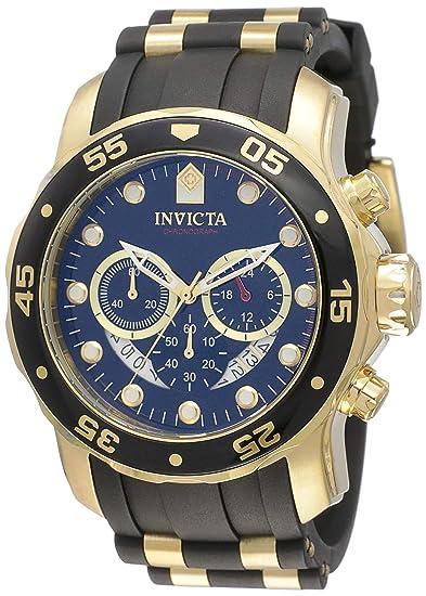 d47f0dc21551 Invicta 6981 Pro Diver - Scuba Reloj para Hombre acero inoxidable Cuarzo  Esfera negro  Invicta  Amazon.es  Relojes