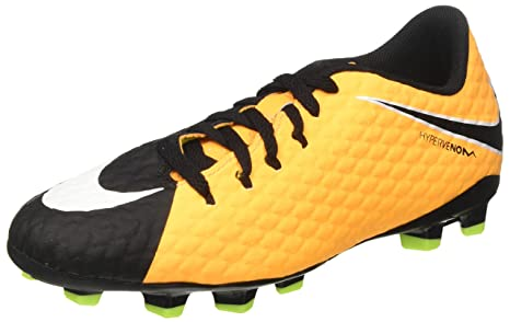 84a7194715b01 Image Unavailable. Image not available for. Colour  Nike Jr Hypervenom  Phelon III FG Kid s Firm Ground Soccer Cleats ...