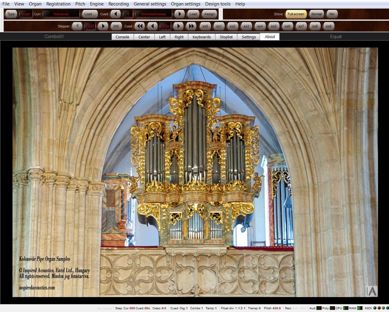 ... Principal de Órgano Sample Juego kolozsvar Personel Edition de Inspired - Acoustics - En Medio De Alquiler Se envía.: Amazon.es: Instrumentos musicales