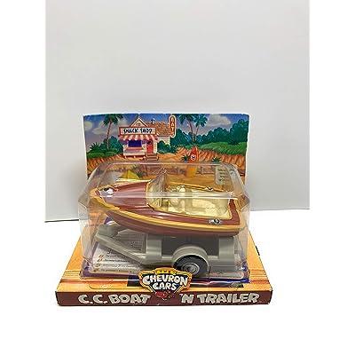 Chevron Cars CC Boat 'N Trailer: Toys & Games