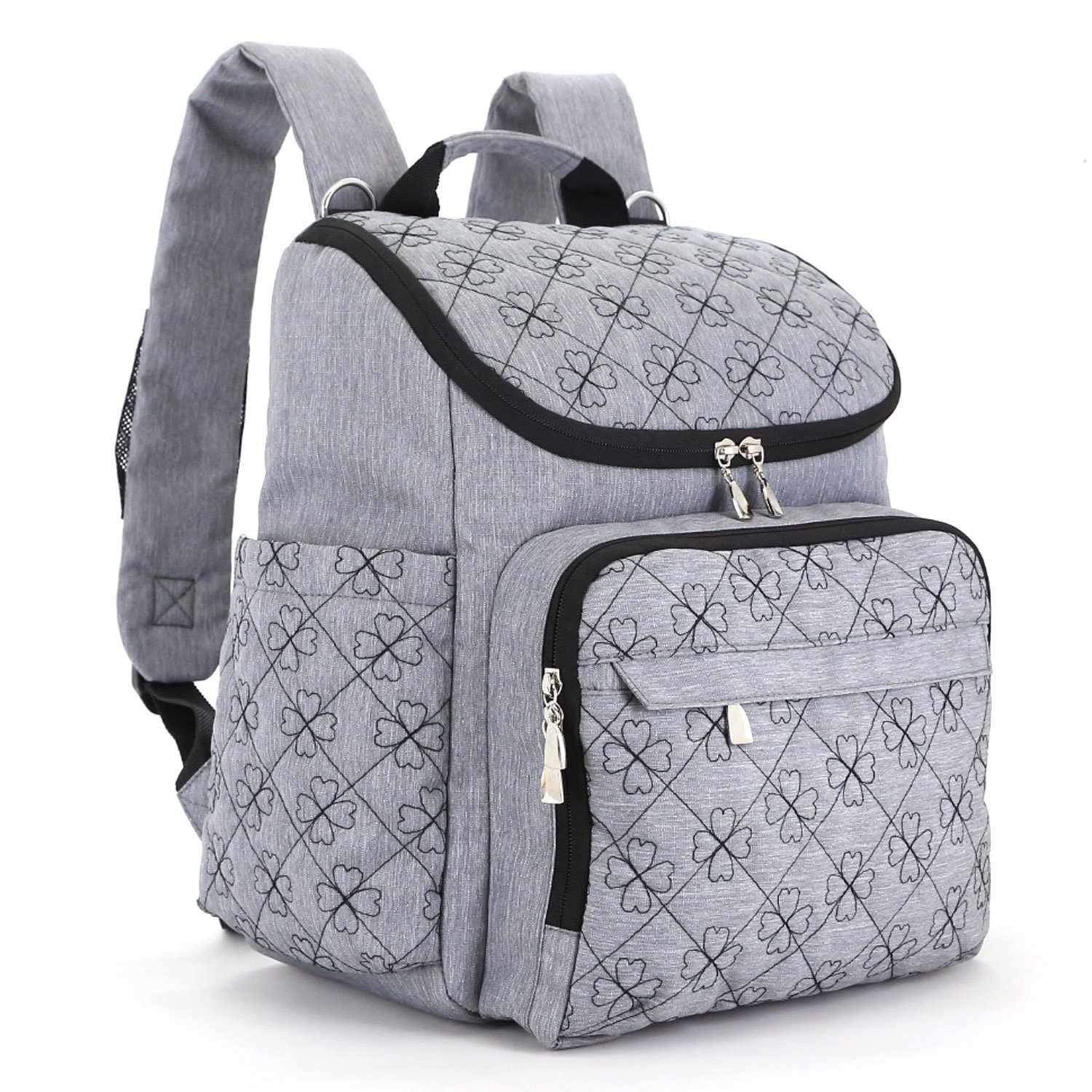 diaper bag backpack with baby stroller straps by