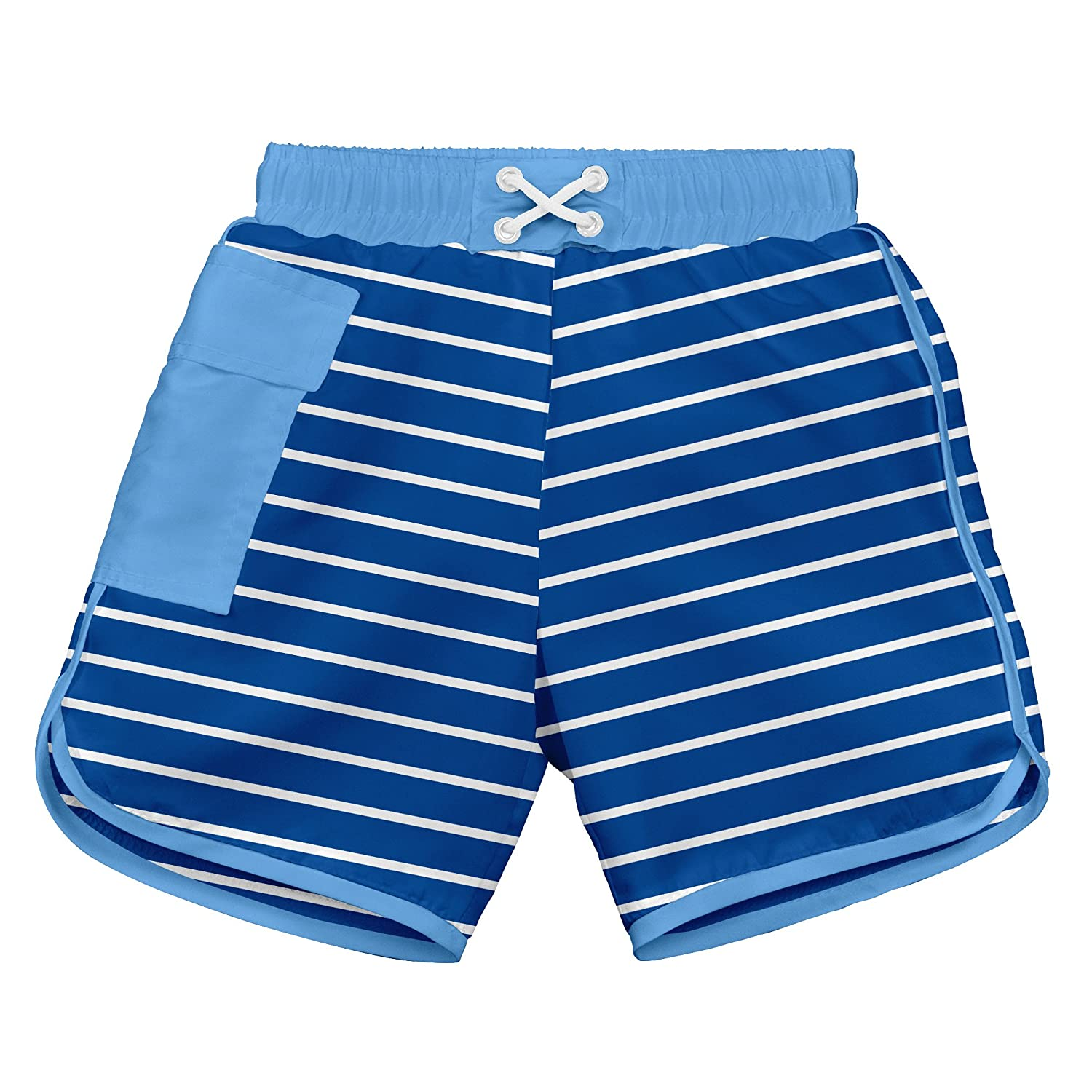 I-Play. Baby Boys' Pocket Board Shorts with Built-In Reusable Absorbent Swim Diaper i play Children' s Apparel 722190