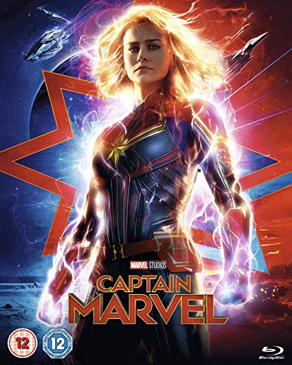 Captain Marvel [Blu-ray] [2019] [Region A & B & C]: Amazon co uk