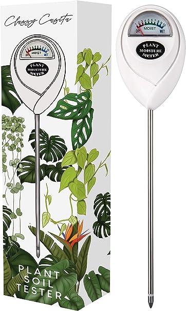 Amazon Com Classy Casita Soil Meter Ebook Plant Soil Moisture Tester Kit For Plant Care Gardening Farming Indoor Outdoor Use Garden Outdoor