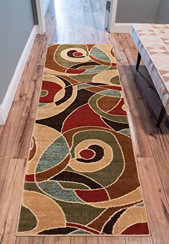 Well Woven Sydney Zen Autumn Modern Area Rug 2 3 X 7 3 Runner