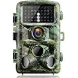 Campark Trail Game Camera 16MP 1080P Night Vision Waterproof Hunting Scouting Cam for Wildlife Monitoring with 120…