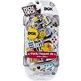 Tech Deck - Fingerboards 4-Pack Series 3 - DGK Skateboards