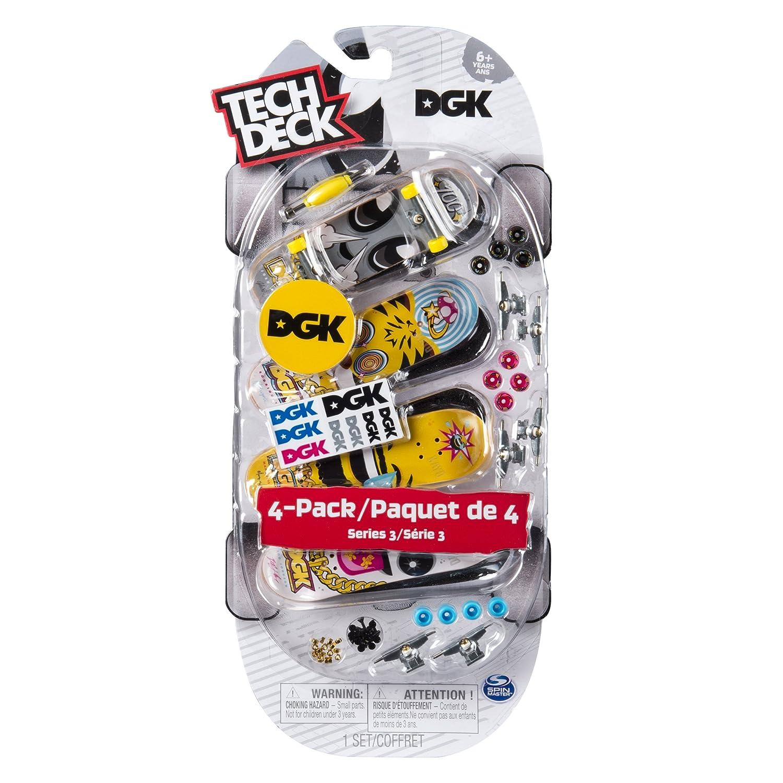 Amazon skateboards finger boards finger bikes toys games tech deck fingerboards 4 pack series 3 dgk skateboards baanklon Gallery