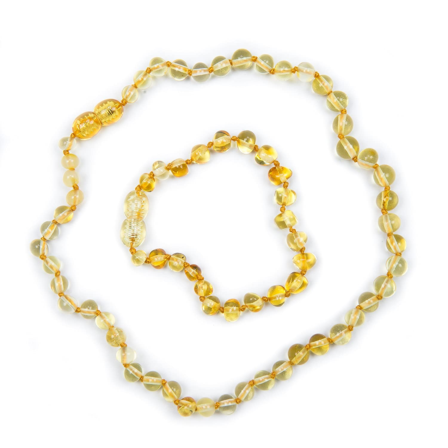 100% Genuine Lemon Necklace and Anklet Set. Variety Of Anklet Sizes. Free Delivery. Money Back Guarantee Baby J' s lemon set
