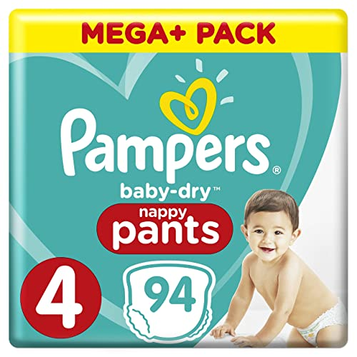 Pampers Active Fit Size 4 Maxi Jumbo Pack 66 Nappies