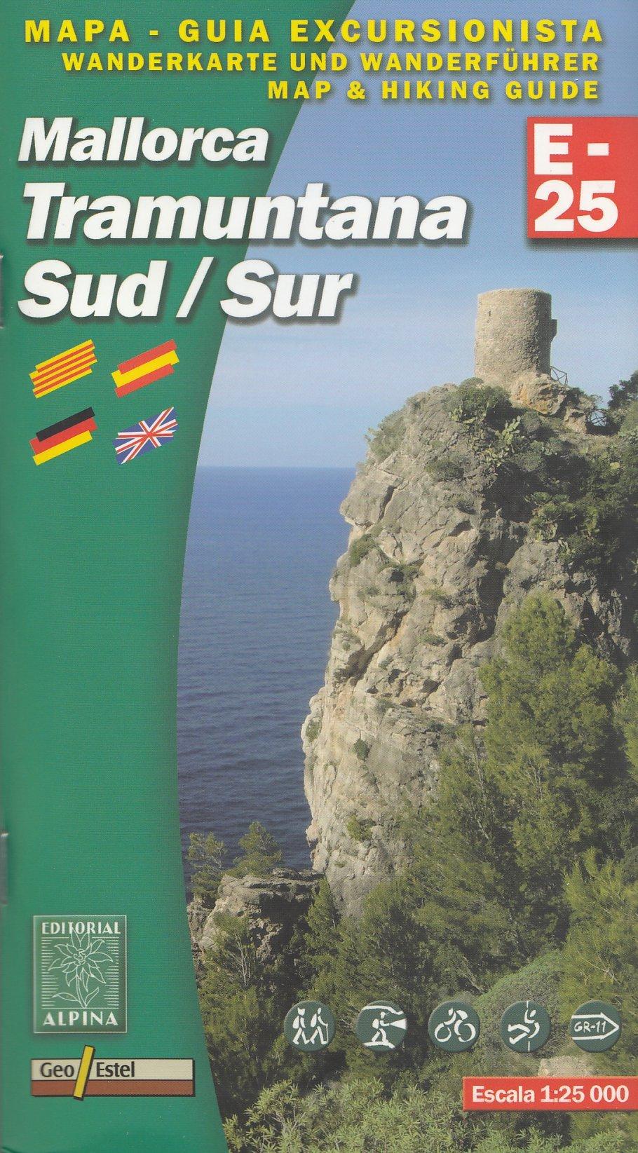 Mallorca Tramuntana - South 1:25.000, senderismo y ciclismo ...