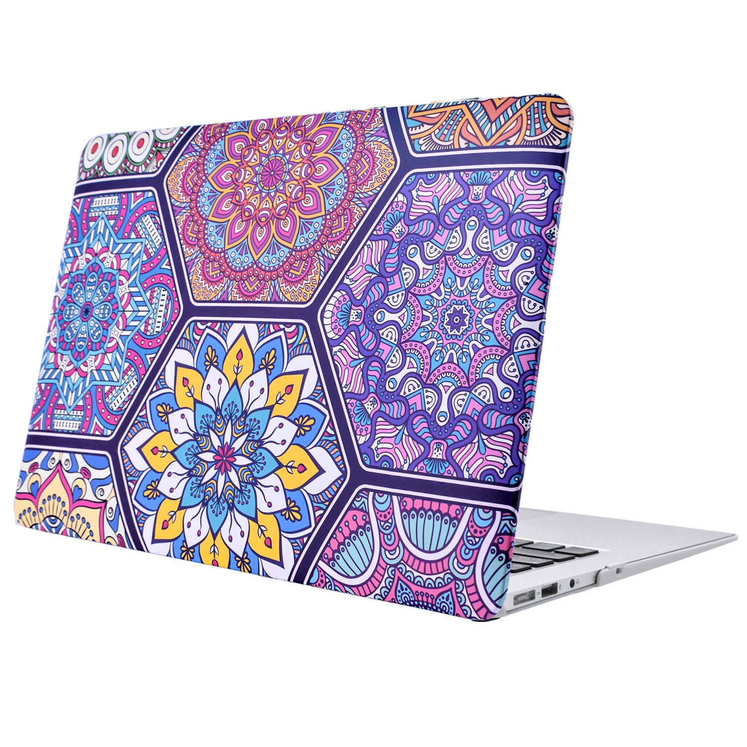 Hard Plastic Protective Case Soft-Touch for Apple MacBook Air 13 Inch Model A1369 and A1466 2012-1017 Art
