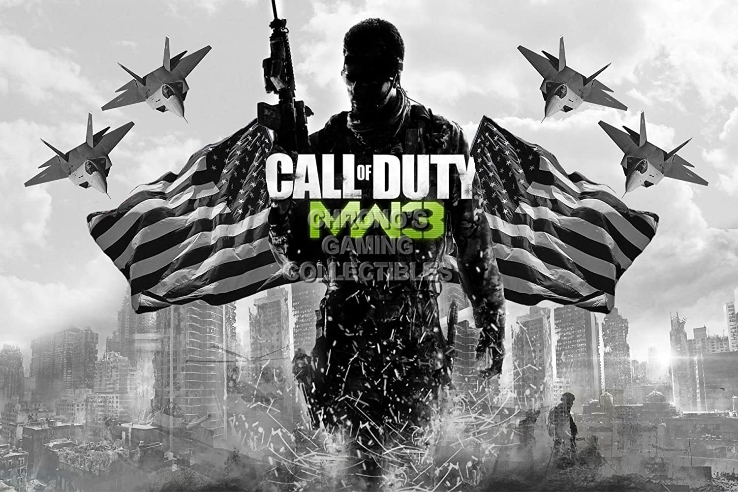 "PrimePoster - Call of Duty Modern Warfare 3 COD Poster Glossy Finish Made in USA - YCOD009 (24"" x 36"" (61cm x 91.5cm))"