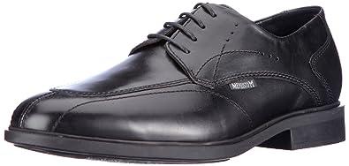 f216a2c7992922 Mephisto-Chaussure Lacet-FOLKAR Noir cuir 4300-Homme: Amazon.fr ...