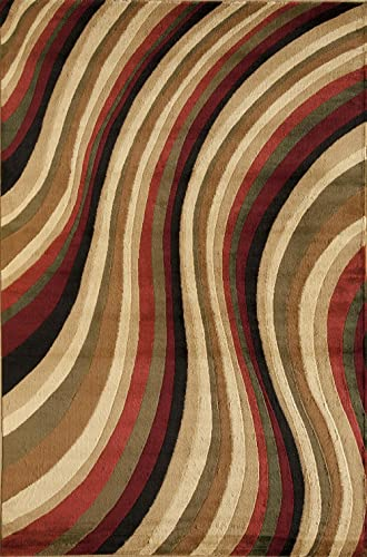 Rugs America Capri Area Rug, 7-Feet 10-Inch by 10-Feet 10-Inch, Soho