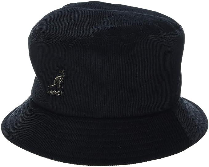 a4299d46f5a9d9 Kangol Cord Bucket Hat (Black Bk), Medium (Manufacturer Size: M)