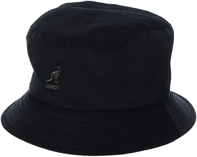 e6da53f2 Kangol Cord Bucket Hat (Black Bk), Medium (Manufacturer Size: M)