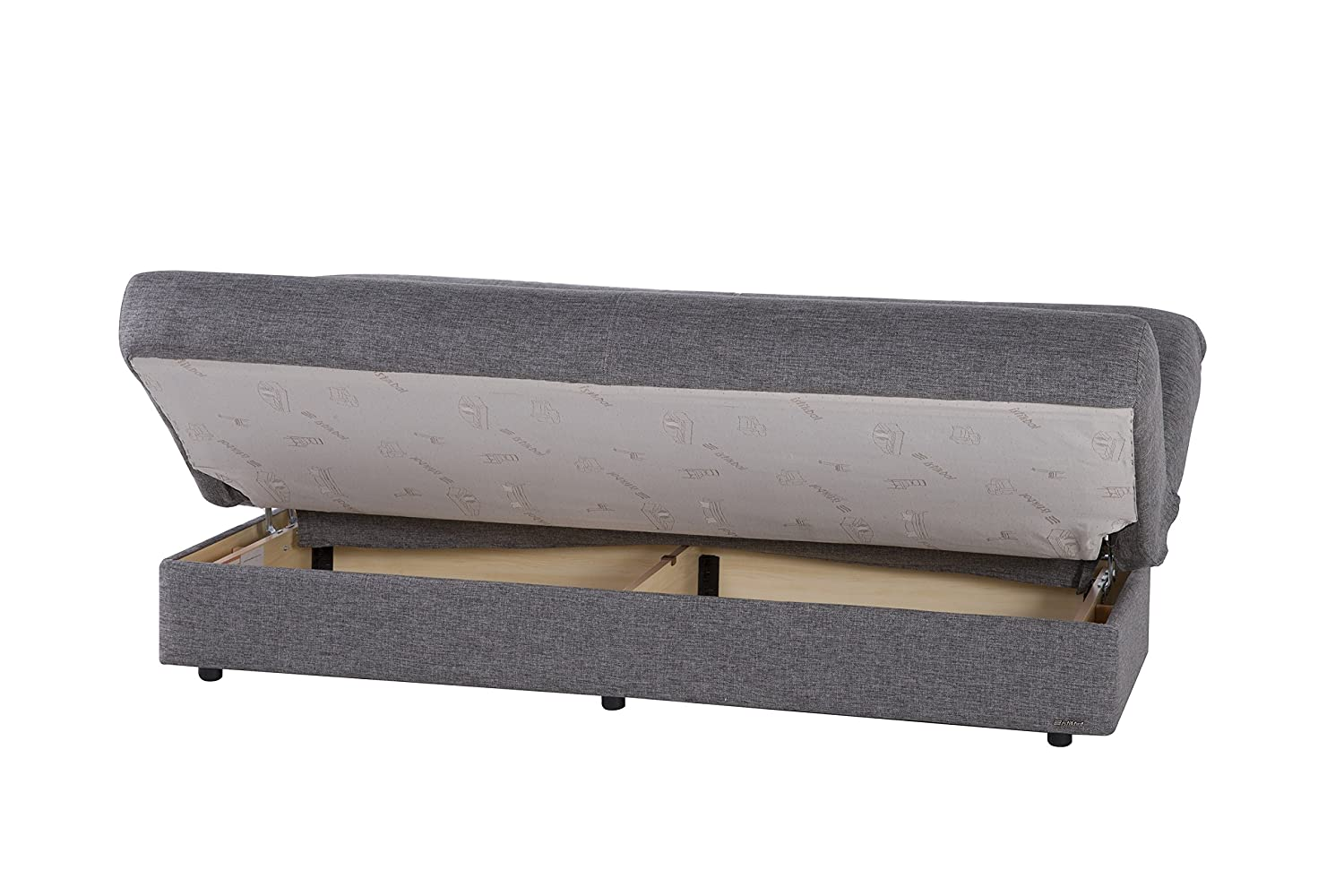 ISTIKBAL Multifunctional Furniture Regata Collection (Sofa Sleeper) DIEGO GRAY