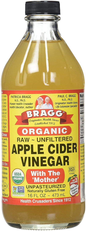 Braggs Organic Apple Cider Vinegar 473ml X 2 62453 Bragg 473 Ml